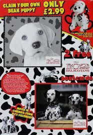 2000 102 dalmatians colour changing dog nestle shreddies cereal