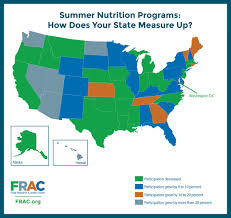 Hawaii State Map by State Map Of Summer Nutrition Programs Food Research U0026 Action Center