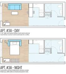 Studio Apartment Floor Plans 25 Square Meter Micro Apartment Plan Good Rectangular Plan