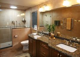 bathrooms with tan and brown colors baltic brown bathroom