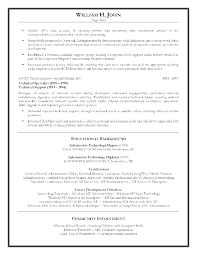 Sample Resume Information Technology Resume Examples For Information Technology Augustais