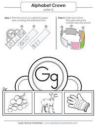 letter g worksheets recognize trace u0026 print