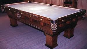 brunswick mission pool table the monterey mission original restored antique pool table