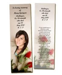 memorial bookmarks memorial bookmarks living memorial cards