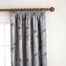 Green And Blue Curtains Blue And Brown Curtains Duck Egg Blue Brown Striped Curtains