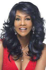 feathered front of hair silver v vivica fox hair collection
