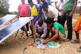 small battery powered water pump pushing the limits of pump design for small farmers in india mit