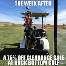 Funny Golf Memes - you saw nothing rock bottom golf rockbottomgolf funny golf