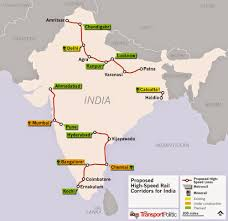 New Delhi India Map by India Gives Go Ahead To Mumbai Ahmedabad High Speed Rail Line And