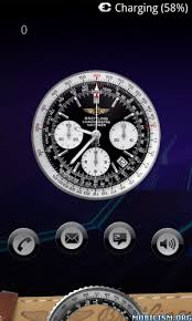 analog clock widgets for android breitling clock widget xl v1 0
