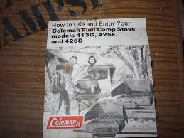 coleman stove manual old coleman stoves doublebhomestead