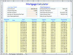 Excel Mortgage Calculator Template Excel Mortgage Calculator Eirc21 Ru