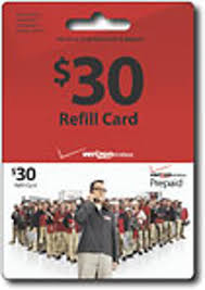 free prepaid cards free 30 verizon wireless prepaid cellphone refill card other