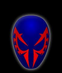 spider mans mask symbol