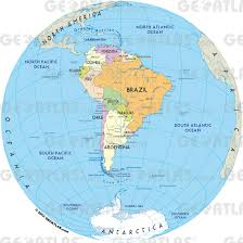 Maps Of South America Geoatlas At World Map South America Roundtripticket Me