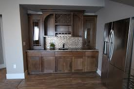 Kitchen Cabinets With Wine Rack by Affordable Custom Cabinets Showroom