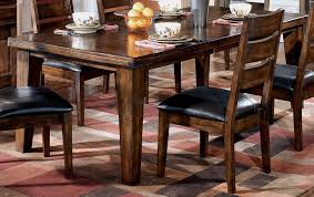 dining room tables sets amazon com ashley furniture signature design larchmont dining