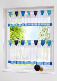 kitchen curtain ideas diy diy chic kitchen curtain idea in white color and blue accent for