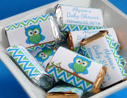 personalized mini candy bar wrappers baby shower custom made