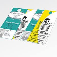 door hangers design print 1800businesscards