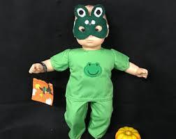 Bitty Baby Halloween Costume Frog Costume Etsy