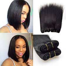 good hair for sew ins barroko natural black 1b peruvian straight hair 4 bundles 50g pcs