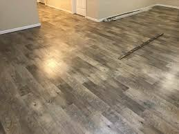 Laminate Flooring Glue Down Flooring Basement Plank Flooring Review Diy Install General Home