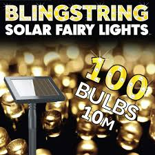 Solar Powered Fairy Lights Review by Solar Fairy Lights Warm White 100 Leds