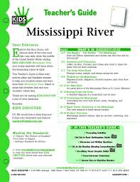 mississippi river kids discover geography landforms
