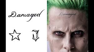 get a detailed look at jared leto u0027s joker tattoos for u0027suicide