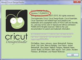 Cricut Craft Room Software - the non crafty crafter cricut latest versions numbers