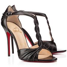christian louboutin lady peep 150mm platform peep toe pumps black