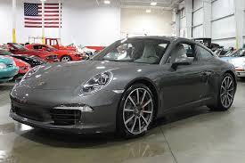 gray porsche 911 agate gray 2012 porsche 911 s for sale mcg marketplace