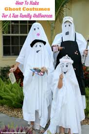 Halloween Ghost Costumes Ghost Costumes Fun Family Halloween Fun Money Mom