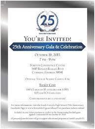Event Invitation Card 25 Anniversary Invitation 25 Anniversary Invitation Cards Matter