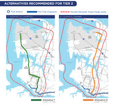 Norfolk Virginia Map by Proposed Light Rail Routes To Norfolk Naval Station Would Go Up