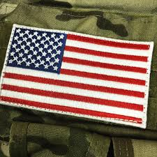 State Flag Velcro Patches Double Tap 3x5