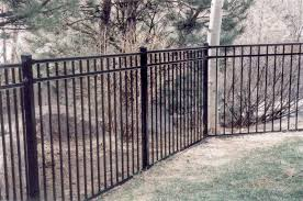 montage ornamental steel fencing residential industrial
