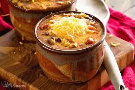 crock pot famous chili video julie u0027s eats u0026 treats