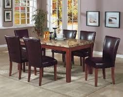 Marvelous Ideas Granite Top Dining Table Enchanting Dining Room - Granite dining room table
