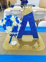 royal blue and gold baby shower decorations charming royal prince baby shower decoration contemporary design