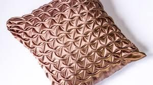diy decorating ideas smocked pillow cover design handiworks