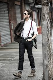 what hair styles suit braces how to wear suspenders with jeans for men 30 male fashion styles