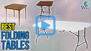 top 10 folding tables of 2017 video review