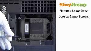 mitsubishi tv light bulb mitsubishi dlp tv repair replacing installing 915p061010 dlp