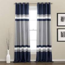 Grey And White Striped Curtains Stripe Curtains Drapes For Less Overstock