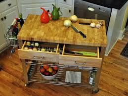 loon peak thielsen kitchen cart with wood top u0026 reviews wayfair