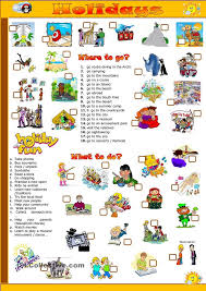 202 best esl vocab transport hobbies holidays images on