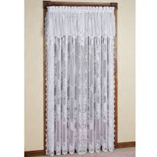 Modern Floral Curtain Panels Door Panel Curtains Door Panel Curtains Rainbow Colors Solid