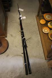 shakespeare mustang fishing rod shakespeare chinook uptide fishing rod plus a mustang pier rod